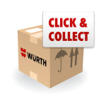 Bestellen und Abholen - Click and Collect - Würth App